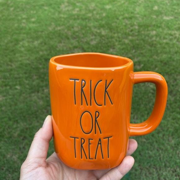 rae dunn trick or treat